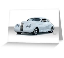 1949 Packard Clipper Custom Coupe Greeting Card