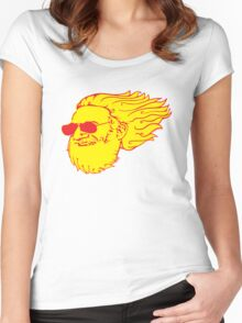 Jerry Flame Women's Fitted Scoop T-Shirt