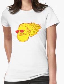 Jerry Flame Womens Fitted T-Shirt