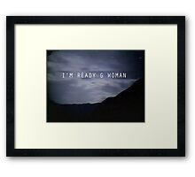 "The X-Files Reboot ""G Woman"" Framed Print"