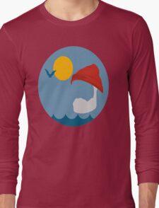 Steve Zissou - Life Aquatic Long Sleeve T-Shirt