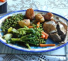 Spring Lamb and Vegetables by BlueMoonRose