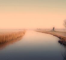 DAWN AT SPRINGMORNING by Johan  Nijenhuis