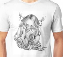 Begonia's Sister by April Alayne Unisex T-Shirt
