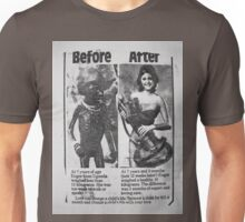 The Difference is Black and White Unisex T-Shirt