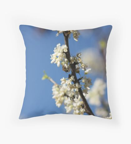 Where the Bees Are Throw Pillow