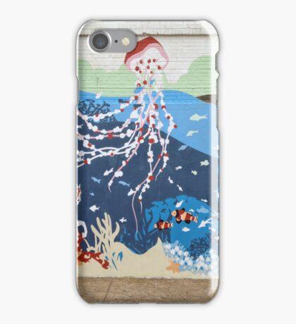 Coney Island Aquarium Mural iPhone Case/Skin
