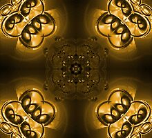 Gold abstraction by i-ra888
