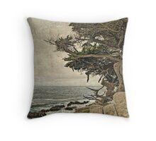 Coastal Cypress Throw Pillow