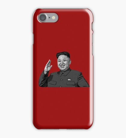 Kim Jong-Un Simple  iPhone Case/Skin