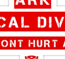 Ark-Medical Division Sticker