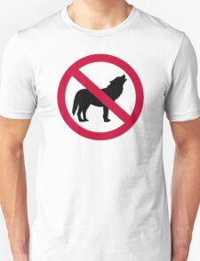 No wolves T-Shirt