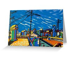 BCN Born roofs Greeting Card
