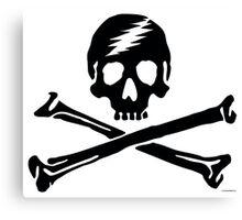 Dead Jack Black Canvas Print
