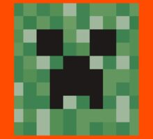 Face of a Creeper Kids Clothes