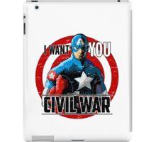 Captain America - Civil War  iPad Case/Skin