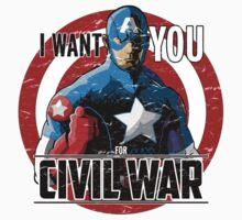 Captain America - Civil War  by Sonicfan