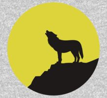 Wolf moon Kids Clothes