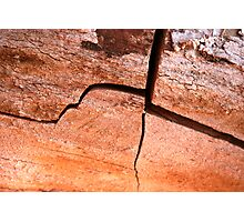 Stress Fracture Photographic Print
