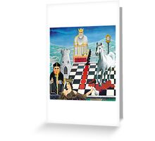 Chessmates  Greeting Card