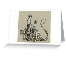 Brontësaurus Greeting Card