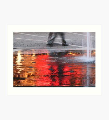 Sea of Flame Art Print