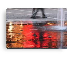Sea of Flame Canvas Print