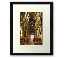 The power and the glory Framed Print