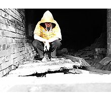 Hoody in the House. Photographic Print