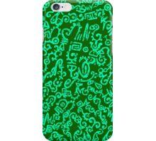 Everlit Script Green iPhone Case/Skin