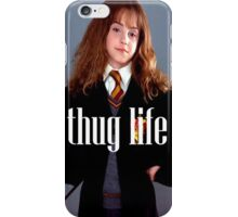 Hermione Granger Thug Life iPhone Case/Skin