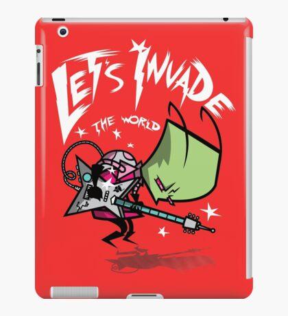 Invade the World iPad Case/Skin