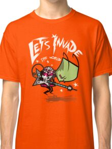 Invade the World Classic T-Shirt