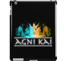 Avatar - Agni Kai iPad Case/Skin