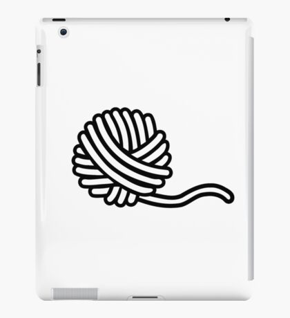 Knitting wool iPad Case/Skin