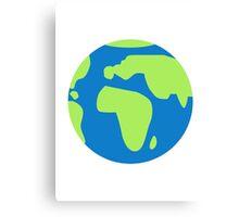 Globe Earth Canvas Print