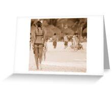 Playa Girl Greeting Card