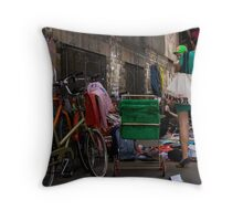 Shopper Throw Pillow