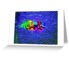 Chill graffiti Greeting Card