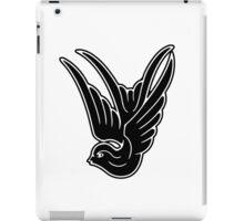 Black Swallow iPad Case/Skin