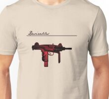 Desirables: The Uzi, Red Edition Unisex T-Shirt