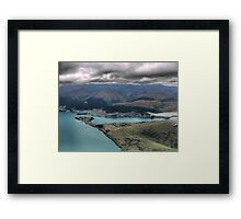 Centre Left and the Chairlift Framed Print