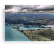 Centre Left and the Chairlift Canvas Print
