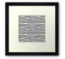 CAL CHEVRON Framed Print