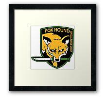 FOX HOUND Art Framed Print