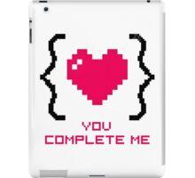 Romantic Curly Braces iPad Case/Skin