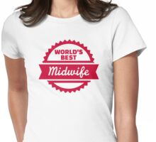 World's best Midwife Womens Fitted T-Shirt