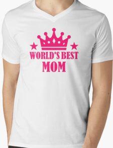 World's best mom Mens V-Neck T-Shirt