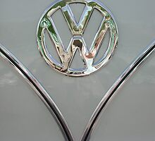 VW Splitty Badge by Retrophoto