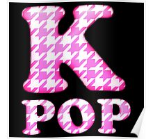 KPOP - PINK HOUNDSTOOTH Poster